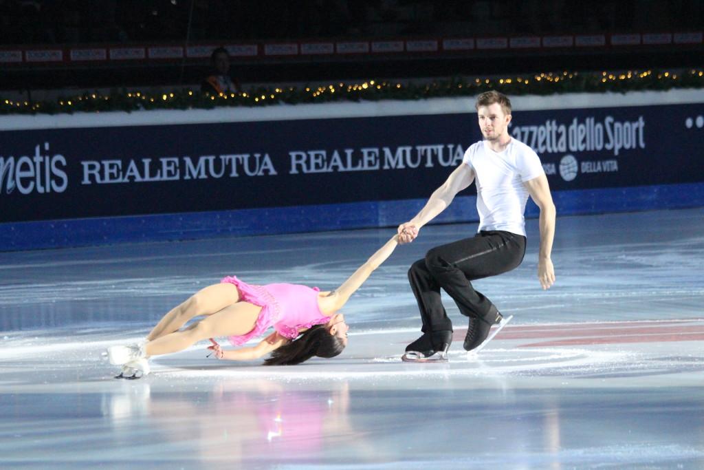Valentina Marchei e Andrej Otarek durante la loro esibizione - Credits: Chiara Rota