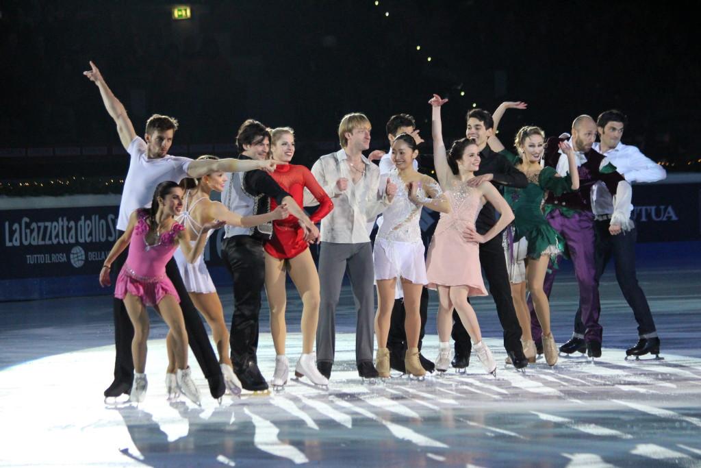 Un mare di applausi ha accolto tutti i campioni che hanno preso parte all'evento - Credits: Chiara Rota