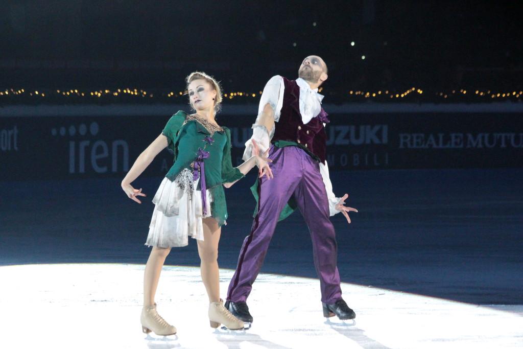 Nelli Zhiganshina e Alexander Gazsi nella loro esibizione dedicata...agli zombie! - Credits: Chiara Rota