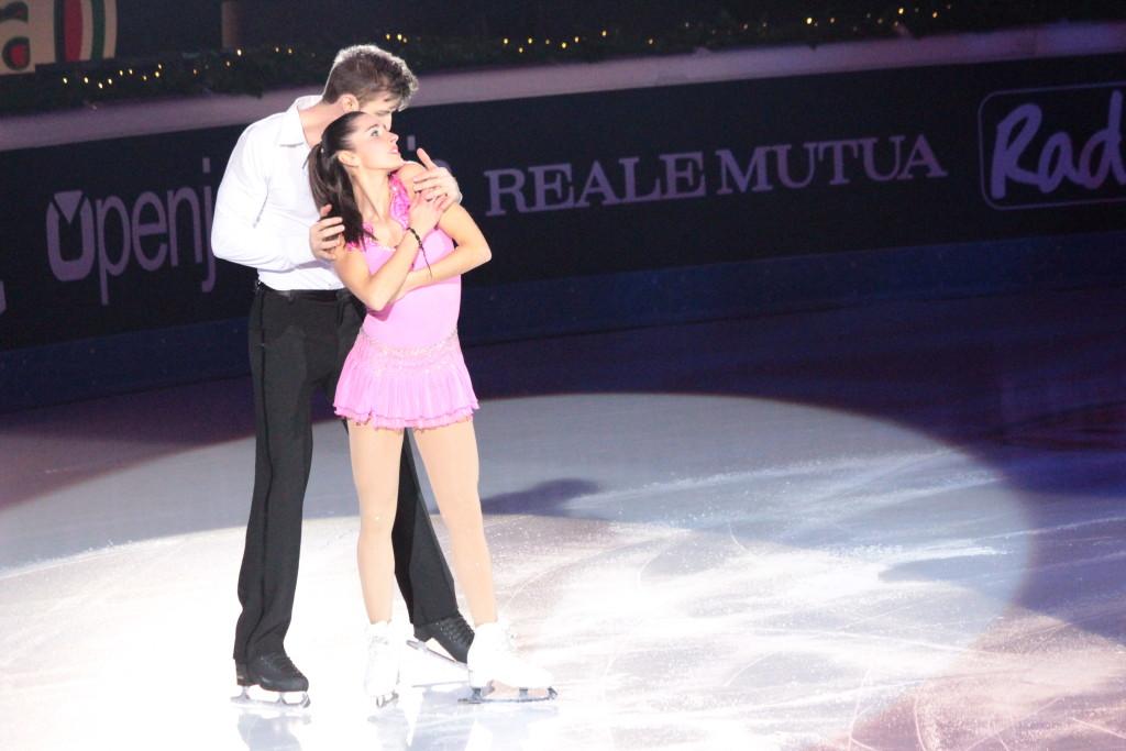Valentina Marchei e Andrej Otarek, precisione e tecnica per la nuova coppia del pattinaggio - Credits: Chiara Rota