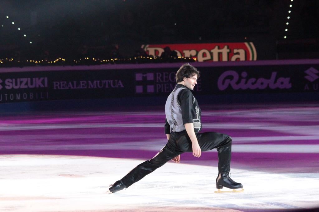 Stephane Lambiel, eleganza e grazia per un atleta molto amato - Credits: Chiara Rota