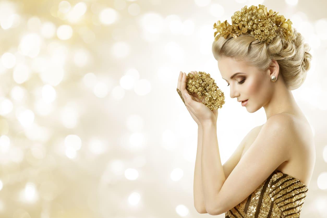 L'eleganza dell'oro idee outfit per le feste