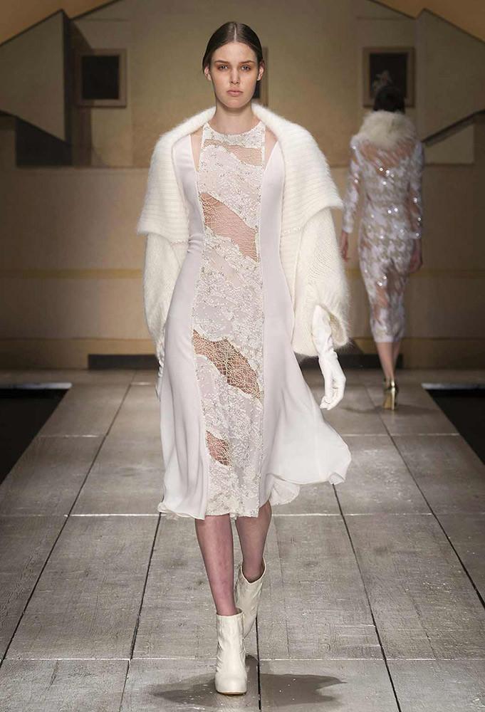 Vestito Laura Biagiotti per la collezione autunno inverno 2014 2015