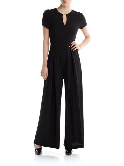 Pantalone palazzo per l'abito in nero di Rinascimento