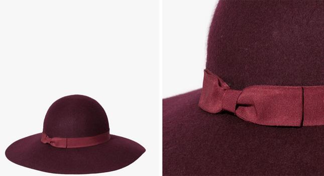 ... e la collezione di cappelli Stradivarius