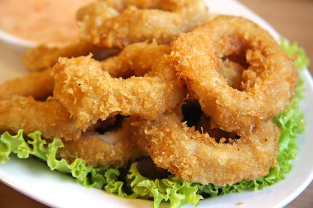 Calamari fritti non fritti