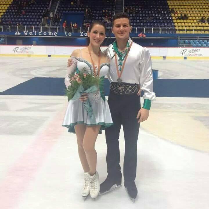 La coppia Charlène Guignard e Marco Fabbri