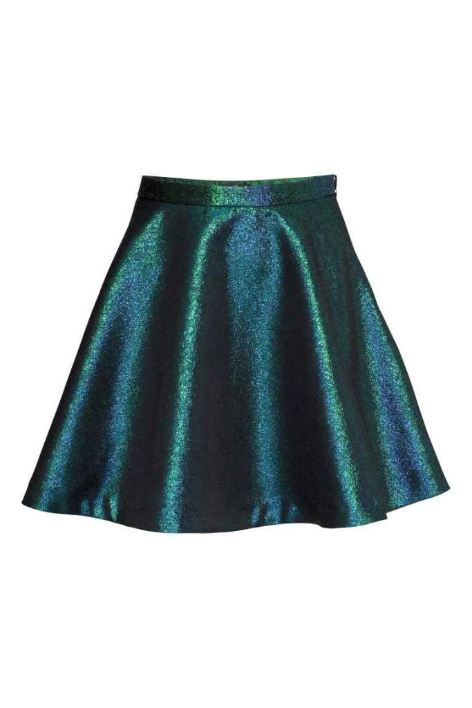 Tutti i riflessi del verde per la mini H&M