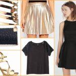 L'eleganza dell'oro: idee outfit per le feste