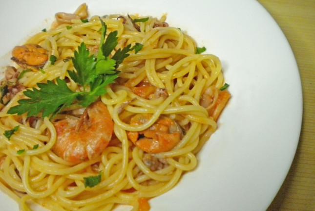 Spaghetti allo scoglio bimby