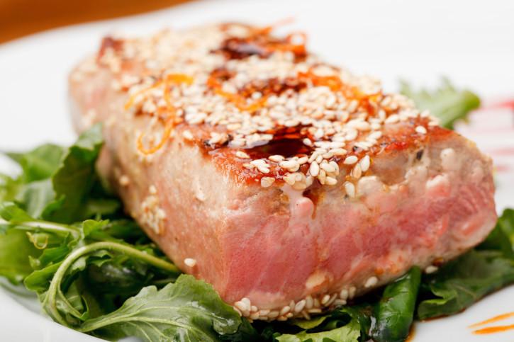 Tagliata di tonno, per il tuo menù di Natale senza lattosio