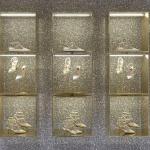 Scarpe chanel e flat per la capsule dedicata a Fornasetti