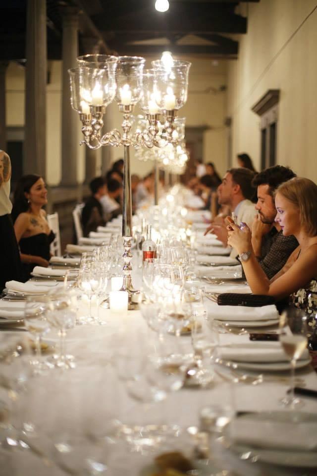 Firenze4Ever chiuderà i battenti lunedì 12 gennaio con la tradizionale cena di gala presso la Ex-Manifattura Tabacchi (nella foto quella dell'edizione di giugno 2014)...