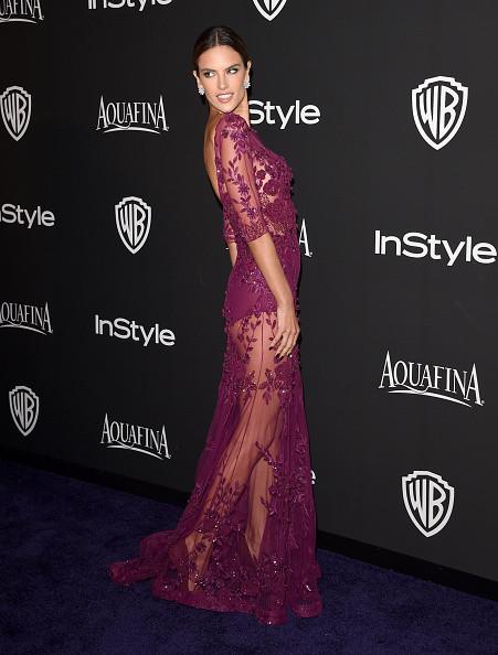 Alessandra Ambrosio al party dei Golden Globes 2015
