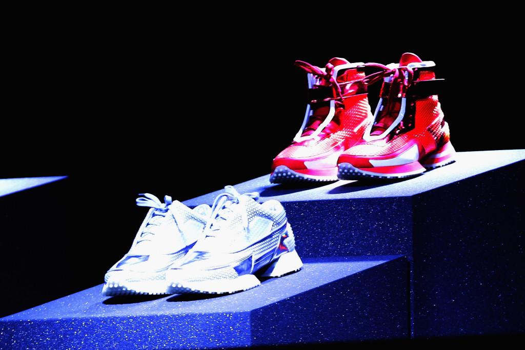Le sneakers di Alberto Premi, vincitore di Who is on Next? Uomo per la sezione Accessori