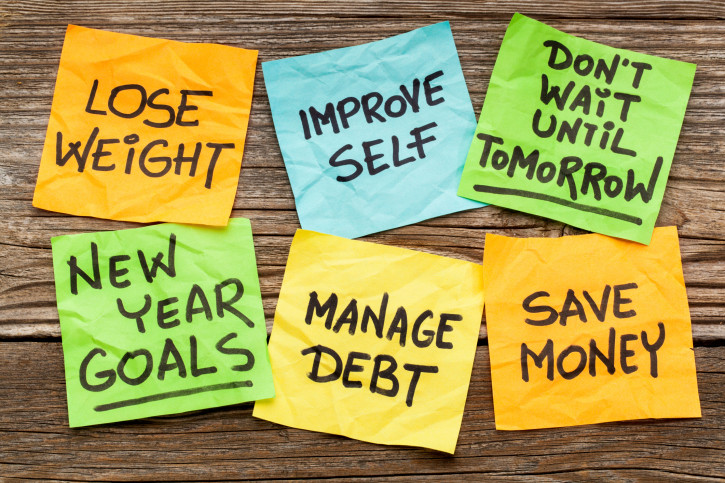 I buoni propositi per il 2015