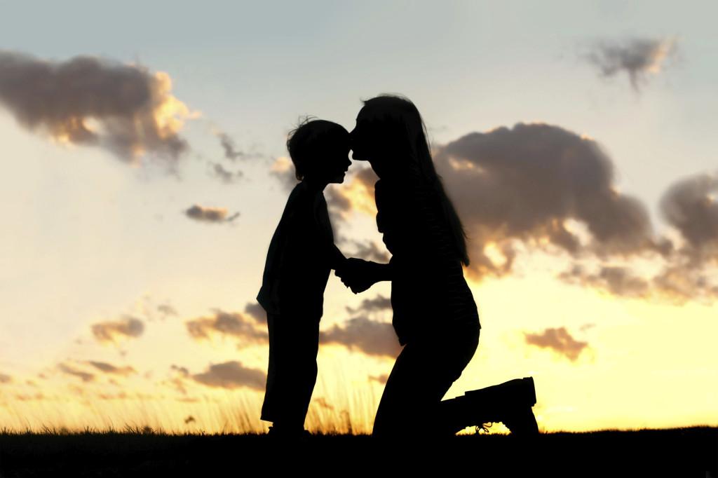 Amore di una madre per il figlio