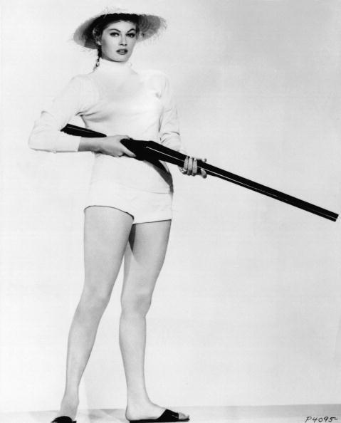 Anita Ekberg in un servizio fotografico del 1960