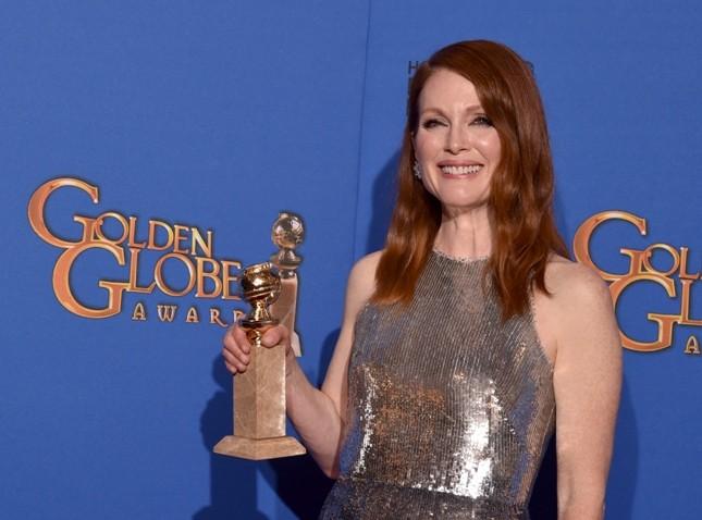 Julianne Moore alla 72° edizione dei Golden Globe
