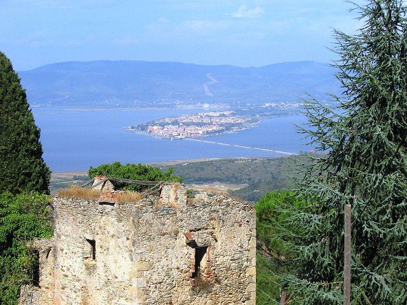 La laguna di Orbetello in Toscana