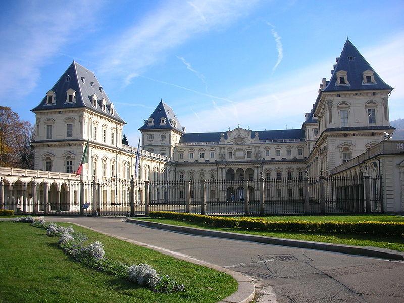 Il Castello del Valentino a Torino