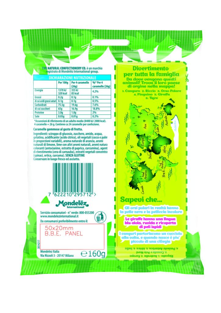 The Natural Confectionery: Scopri gli Animali