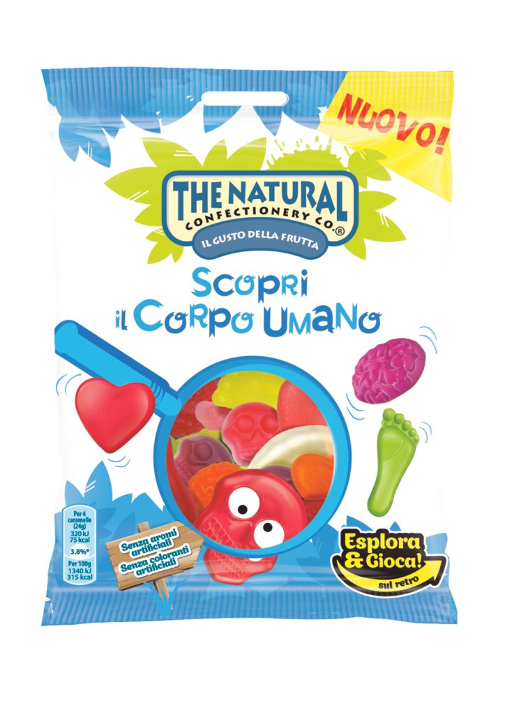 The Natural Confectionery: Scopri il Corpo Umano