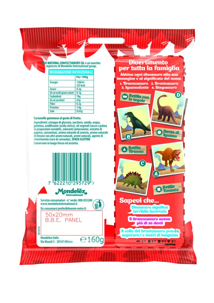 The Natural Confectionery: Scopri i Dinosauri