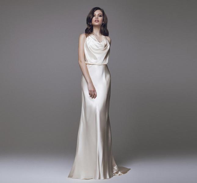 Blumarine bridal, abito scivolato.