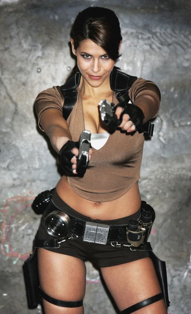 Vestire i panni di un'eroina Lara Croft