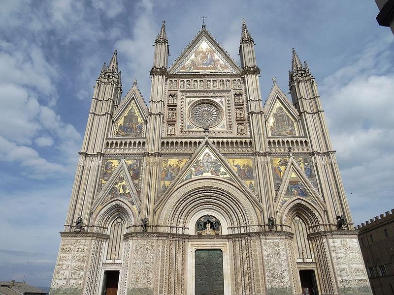 Il suggestivo Duomo di Orvieto