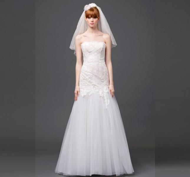 Abito della collezione Forever bridal 2015 di Alberta Ferretti.