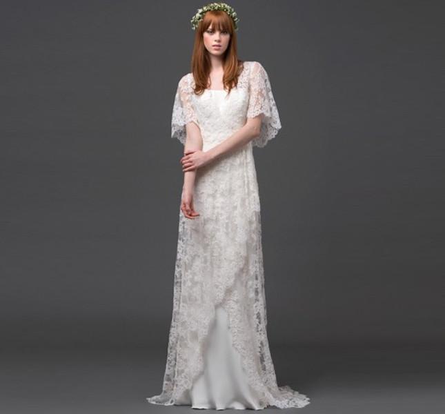 Abito e accessori della collezione Forever bridal 2015 di Alberta Ferretti.
