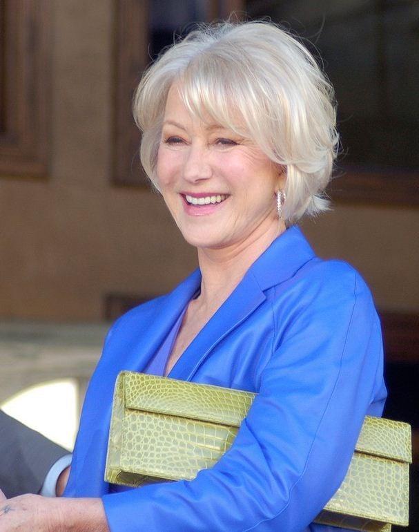 Bellezza senza tempo quella dell'attrice Helen Mirren