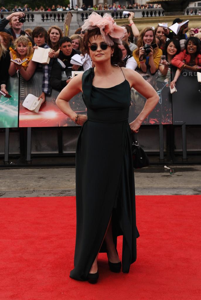 Helena Bonham Carter alla premiere di Harry Potter e i doni della morte - Parte 2