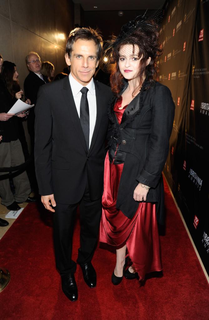 Ben Stiller ed Helena Bonham Carter ai BAFTA 2011 a Los Angeles