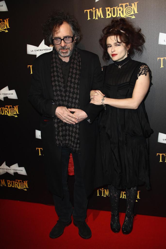 Helena Bonham Carter e Tim Burton a La Cinematheque