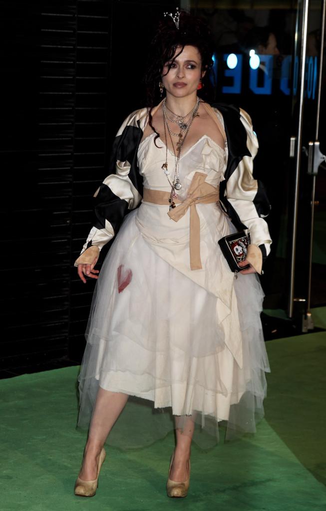 Helena Bonham Carter alla Premiere mondiale di Alice In Wonderland