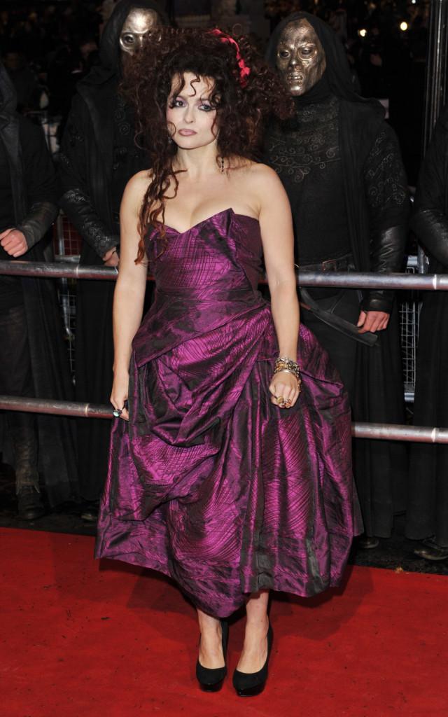 Helena Bonham Cart alla prima di Harry Potter e i Doni della Morte