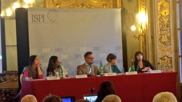 I relatori della Tavola Rotonda I conflitti raccontati dalle donne