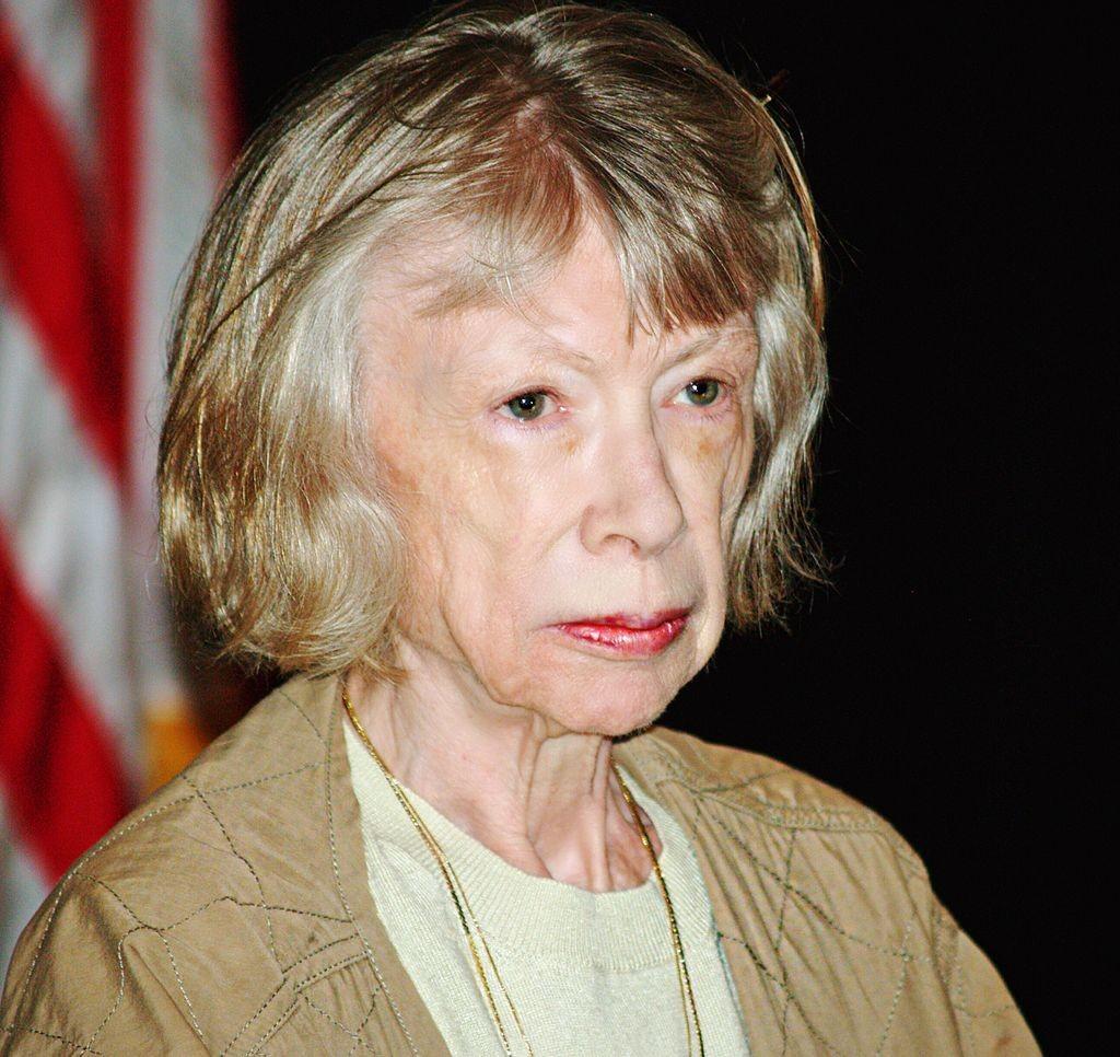 La giornalista, scrittrice e saggista americana Joan Didion è la testimonial di Céline PE 2015
