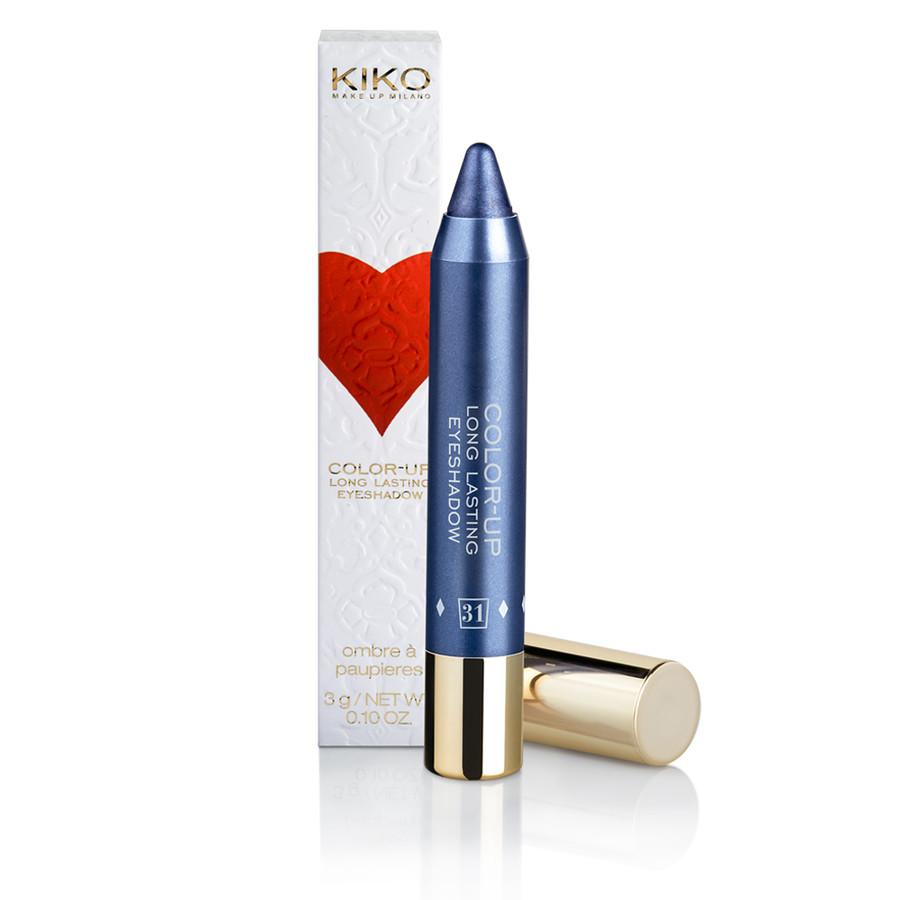 Per un trucco occhi che dura una serata intera, scegli la matita-ombretto color-up long lasting eyeshadow di Kiko