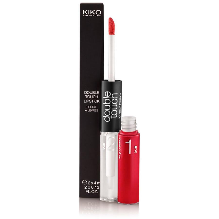 Labbra colorate che durano mille baci: è possibile con double touch lipstick di Kiko, rossetto liquido duo a lunga tenuta