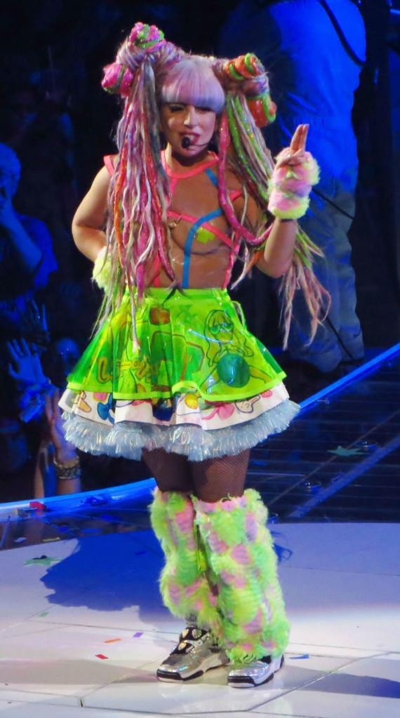 Lady Gaga a Carnevale, vestire il suo personaggio