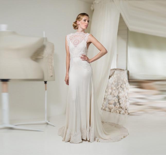 Elegante abito di Leila Hafzi