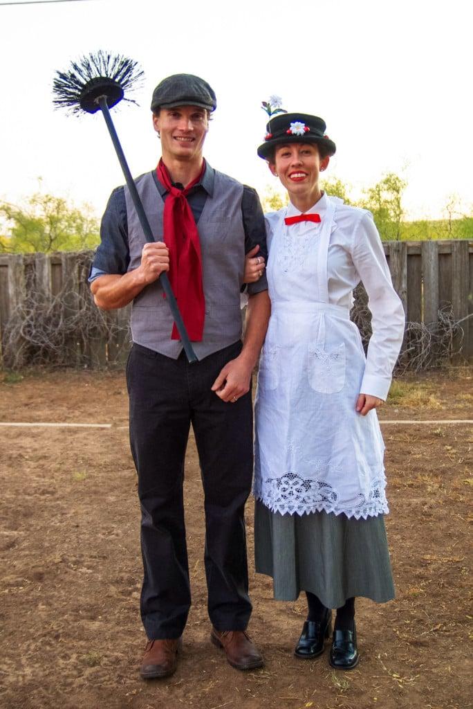Vestirsi da Mary Poppins e spazzacamino