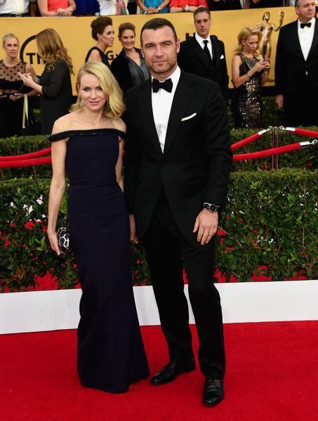 Naomi Watts con Liev Schreiber