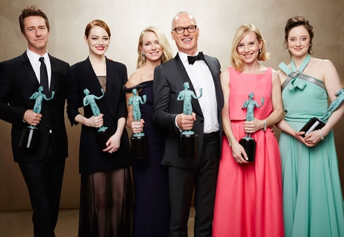 I vincitori della serata