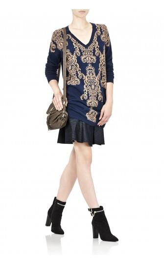 Outfit con tronchetto Annis Liu Jo