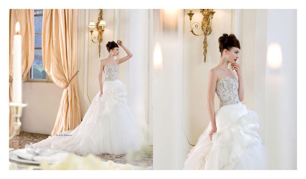 abito stile principessa